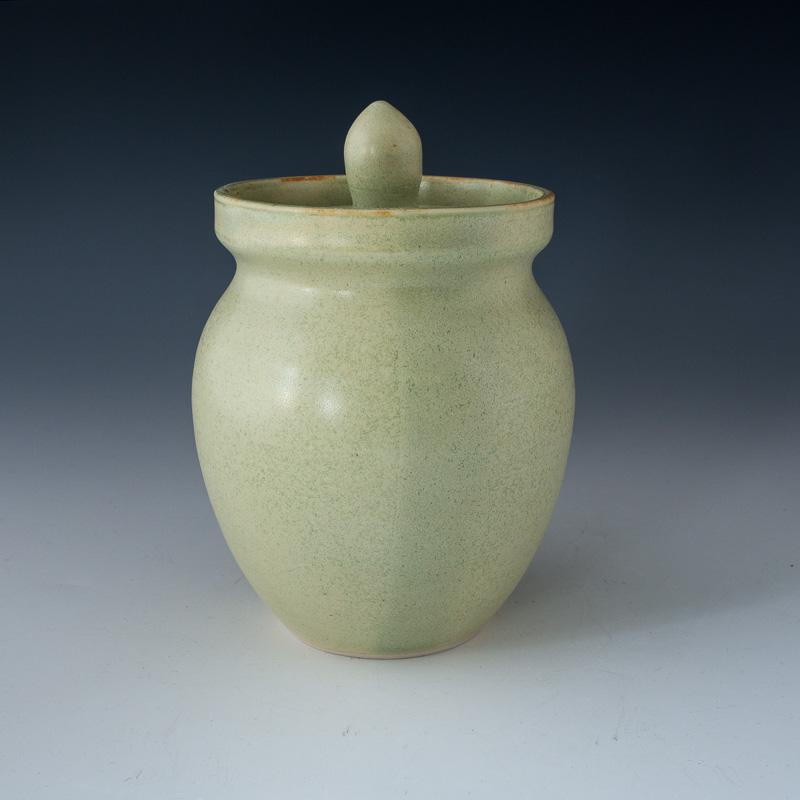 Light Green Honey Jar