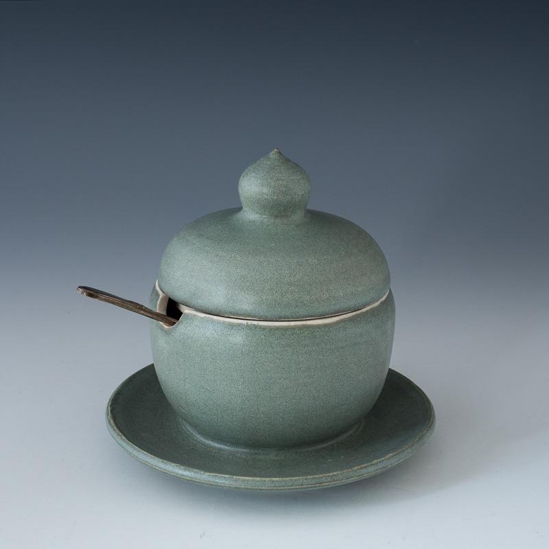 Green Salt Dish